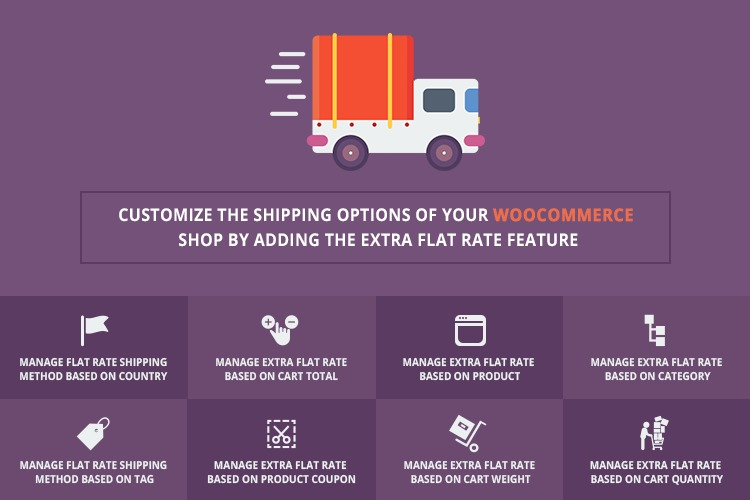 Here's how to add extra flat rate feature in a WooCommerce Store.