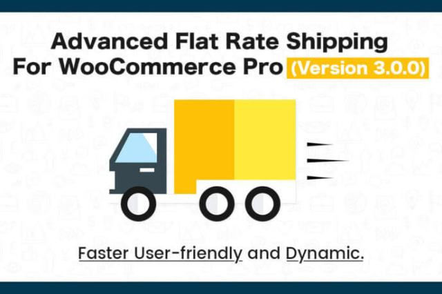 Flat Rate Shipping Plugin For WooCommerce Pro (Version 3.0.0)