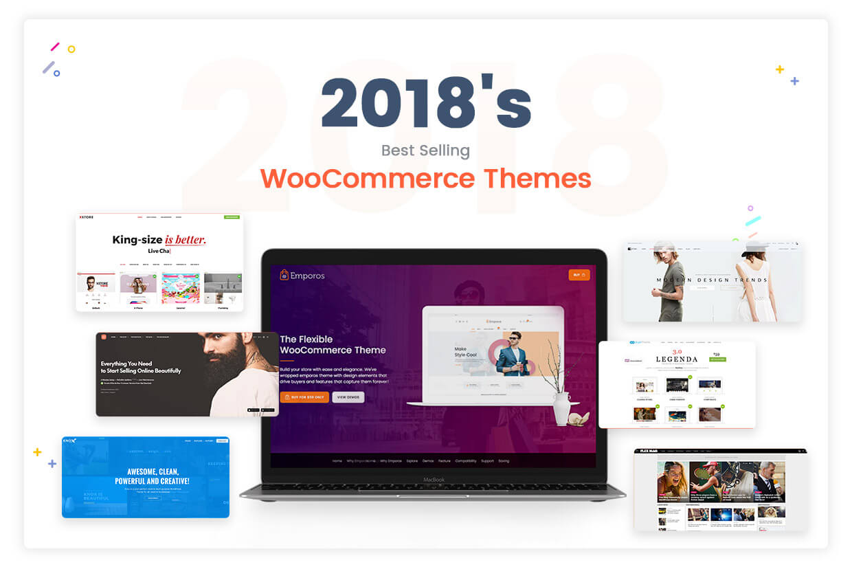 30 Best eCommerce WordPress Themes Powered by WooCommerce 2018