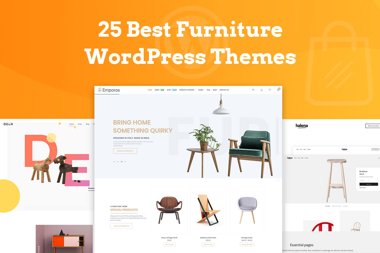 25 Latest Furniture WordPress Themes for Manufacturers, Stores and Interior Designers in 2018