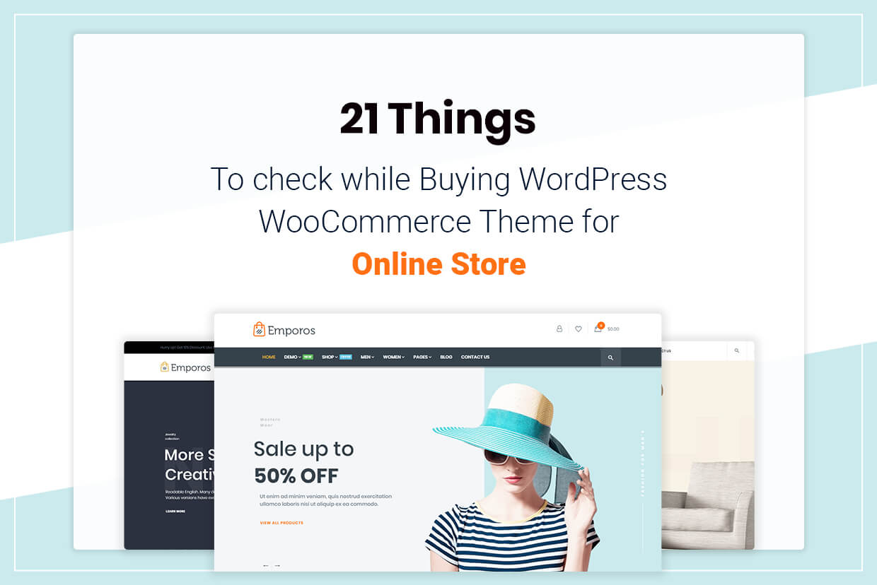 21 Things to check while Buying WordPress WooCommerce Theme for Online Store