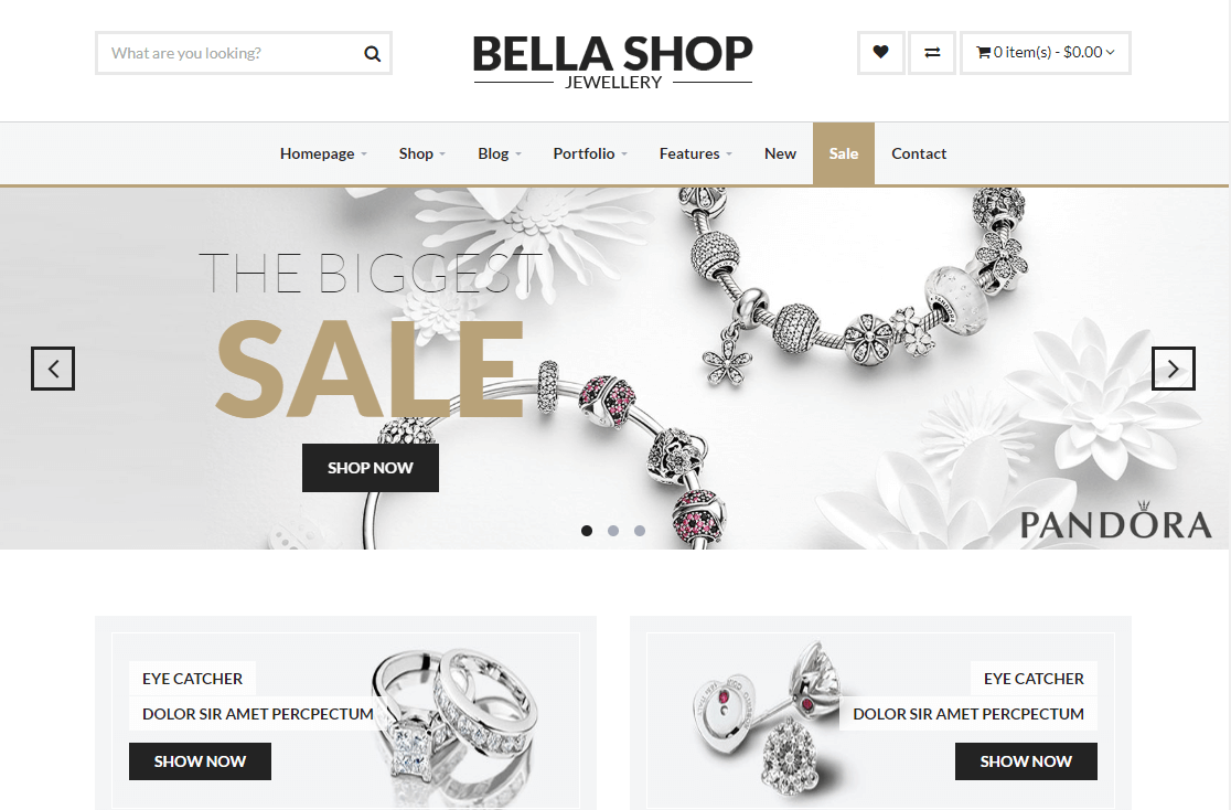 25 Best jewelry WordPress themes by dotstore563