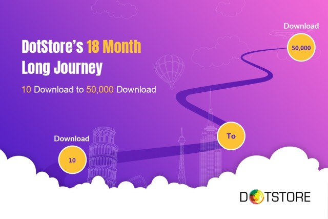 DotStore's 18 Month Long Journey