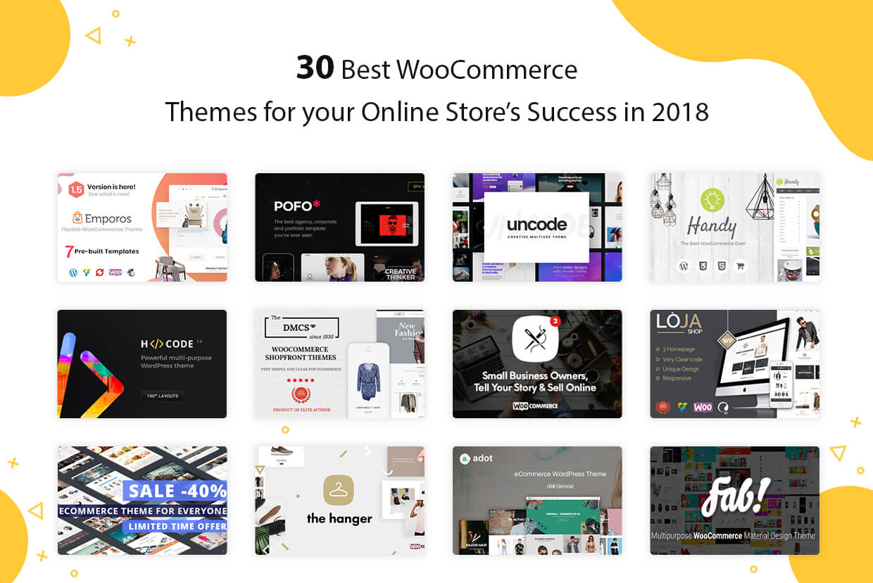 30 Best WooCommerce Themes for your Online Store Success in 2018