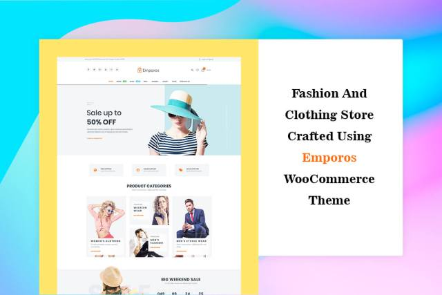 Case Study: Fashion and Clothing Store Crafted using Emporos WooCommerce Theme