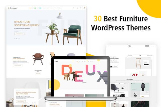 30+ Best Furniture WordPress themes 2018