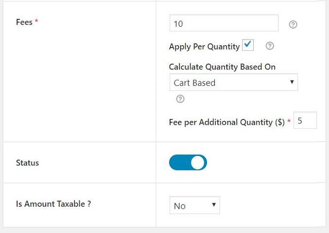 WooCommerce Conditional Product Fees for Checkout