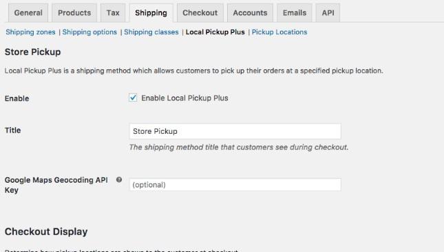 Local Pickup Plus - WooCommerce Plugin