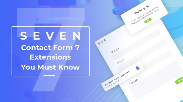 Developer's Guide to 7 New Free Plugins for Contact Form7