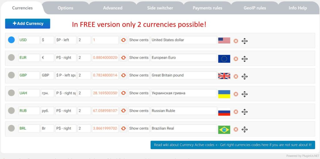06 WooCommerce Currency Switcher