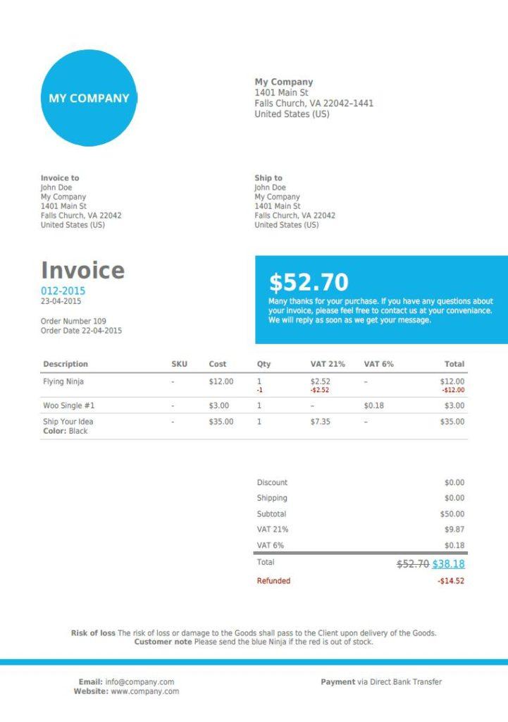 08 8 WooCommerce PDF Invoices
