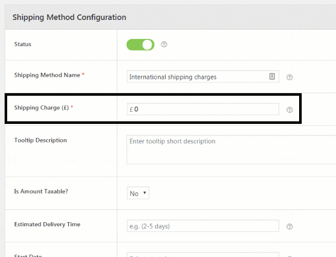 Enabling free shipping in an online Store using Advanced Flat Rate Shipping for WooCommerce Plugin