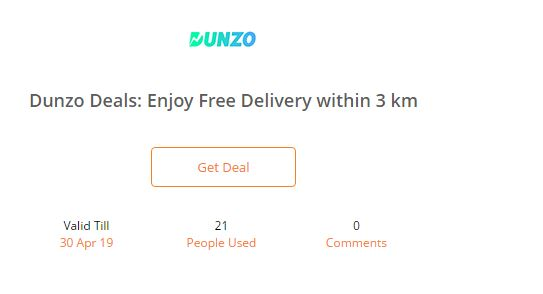 An Example for providing free shipping facility as per location