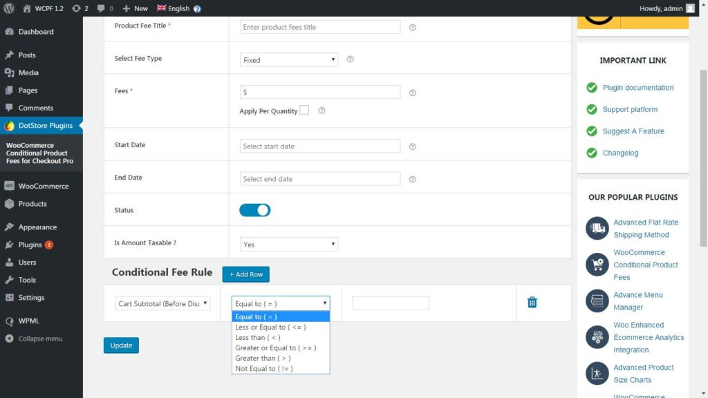 22 WooCommerce Conditional Product Fees For Checkout