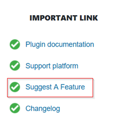 Sending a Feature Addition Request for WooCommerce Conditional Product Fees for Checkout Plugin