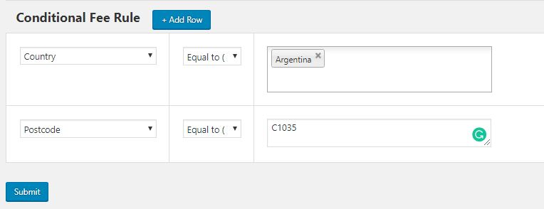 Example 1 – Adding Extra Fees for a City using WooCommerce Conditional Product Fees for Checkout Plugin