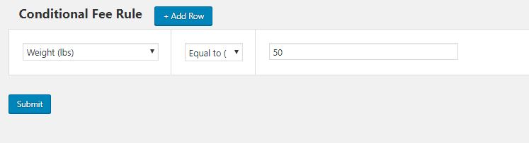 Example 3 – Adding Extra Fees as per Product Weight using WooCommerce Conditional Product Fees for Checkout Plugin