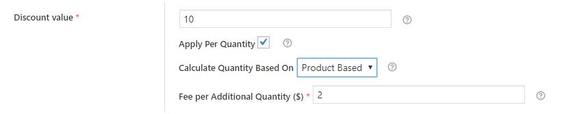 Using 'Apply Per Quantity' Feature in Discount Value