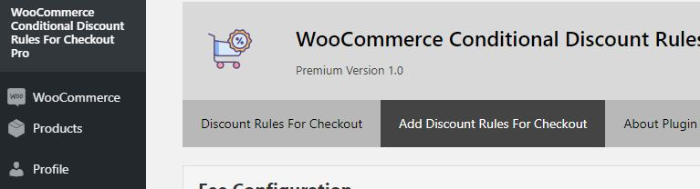Step 1 - Add Discount Rule for Checkout