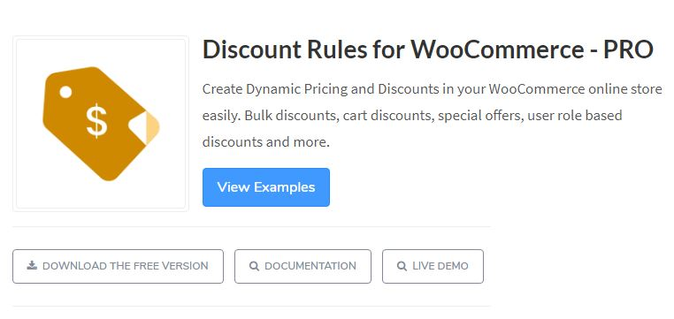 Plugin 3 - WooCommerce Discount Rules