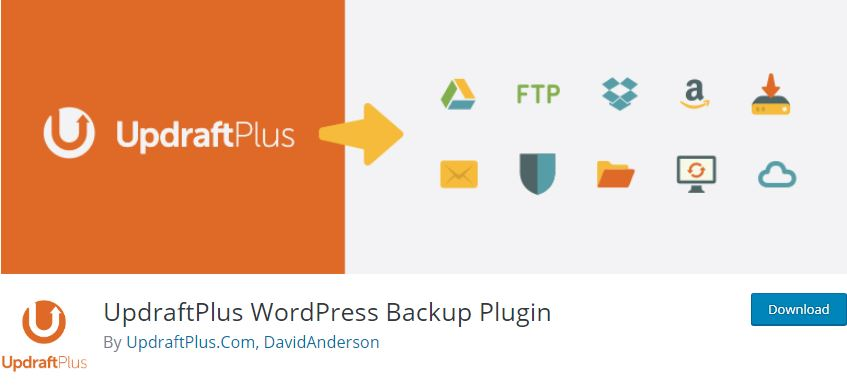 Figure 10 - Updraft WordPress Backup - List of Free WordPress Plugins to Improve Your Site