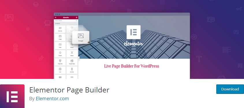 Figure 7 - Elementor - List of Free WordPress Plugins to Improve Your Site