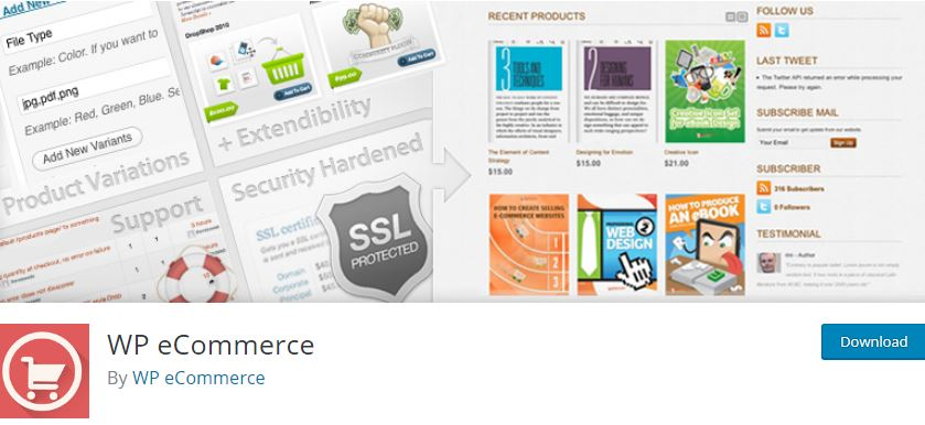 Figure 10 - WpEcommerce - The list of best WP eCommerce Plugins & Shopping Cart Solutions