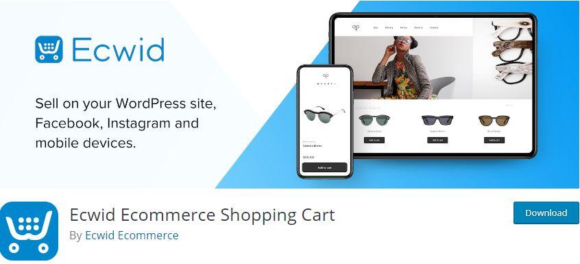 Figure 11 - Ecwid Ecommerce Shopping Cart - The list of best WP eCommerce Plugins & Shopping Cart Solutions