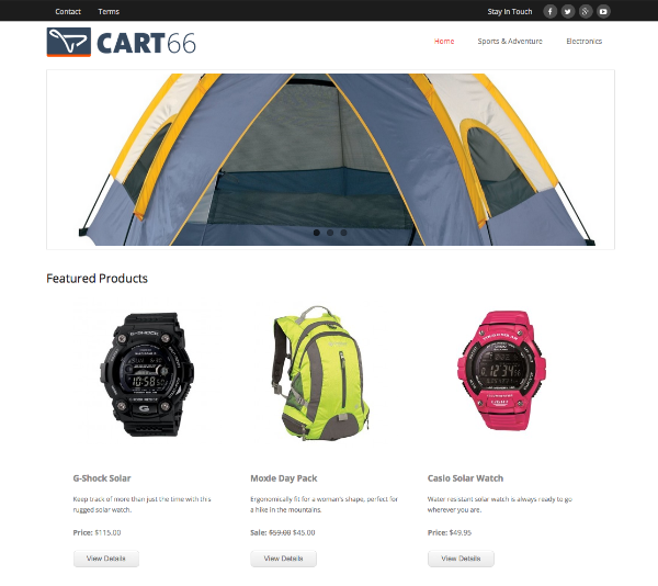 Figure 7 - Cart66 Cloud - The list of best WP eCommerce Plugins & Shopping Cart Solutions