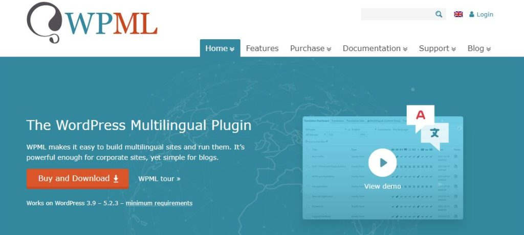 Figure 1 - The WordPress Multilingual Plugin [List of Top WP Translation Plugins]