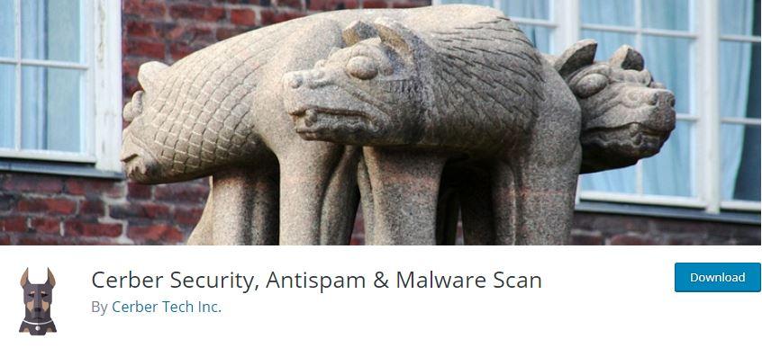 Figure 5 - Cerber Security Plugin - List of Top 6 WordPress Anti-Spam Plugins