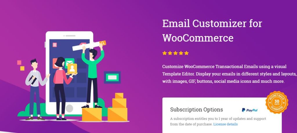 Figure 10 - WooCommerce Email Customizer by Themehigh - List of 10 Best Email Customizer Plugins (WooCommerce)