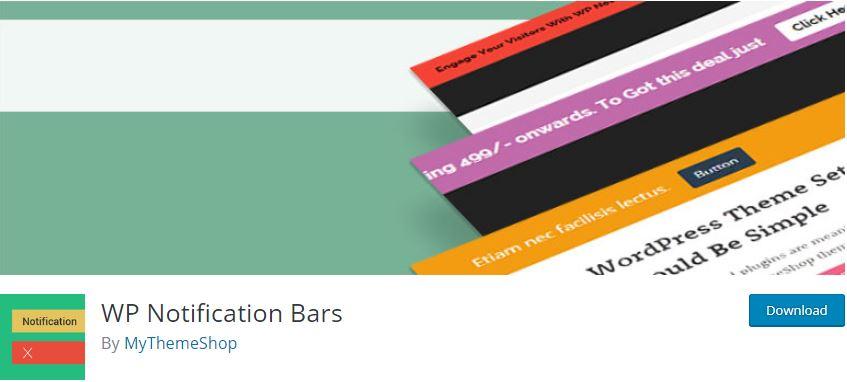 Figure 3 - WP Notification Bars - List of the top 8 WordPress Notification Bar Plugins