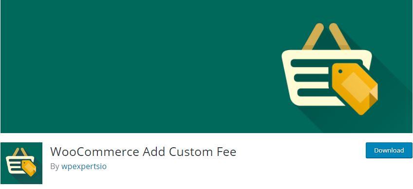Figure 10‑7 - Top WooCommerce Product Fee Plugins - WooCommerce Add Custom Fee