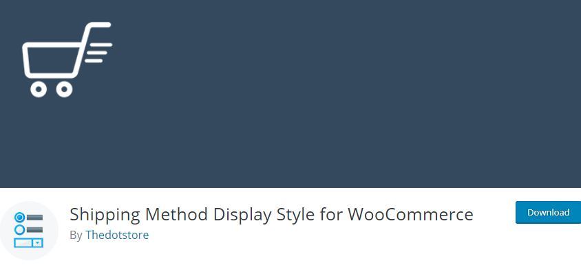 Figure 1‑2 - Top Shipping Plugins - 2 - WooCommerce Shipping Method Display Style