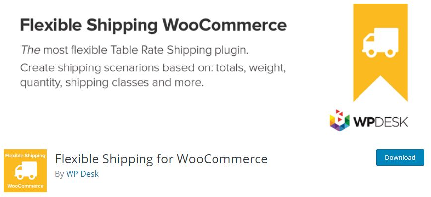 Figure 1‑3 - Top Shipping Plugins - 3 - Flexible Shipping for WooCommerce Plugin