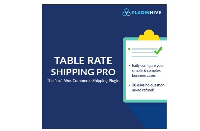 Figure 1‑5 - Top Shipping Plugins - 5 - WooCommerce Table Rate Shipping Pro Plugin