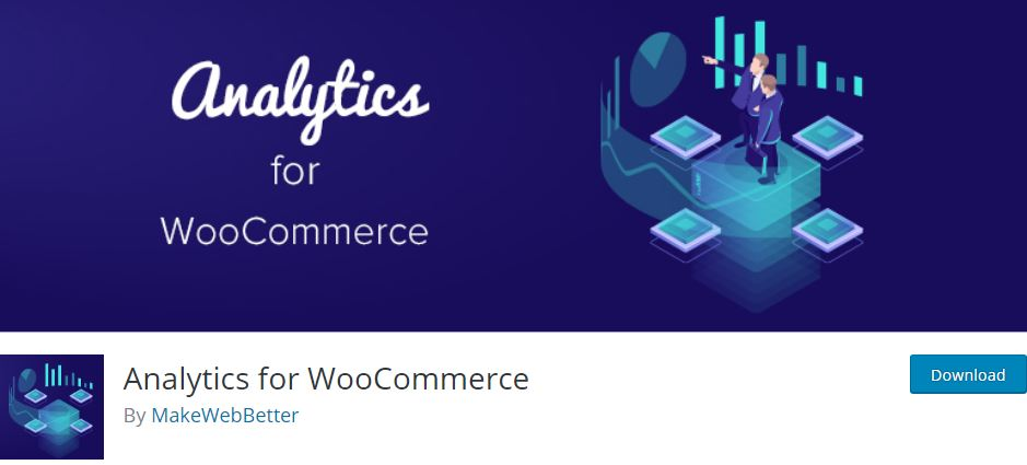 3‑5 - Top 6 Plugins for WooCommerce Report or Analytics - 5 - Analytics For WooCommerce Plugin