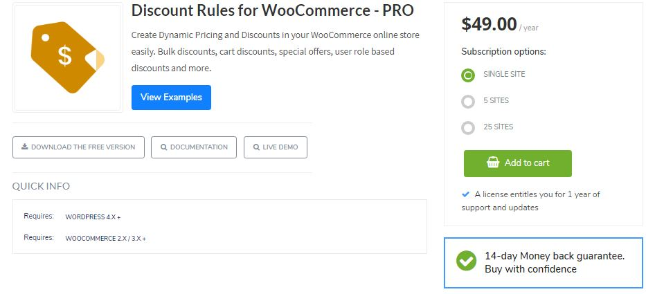 5‑1 - Top 6 WooCommerce Coupon Plugins - 1 - WooCommerce Discount Rules Plugin
