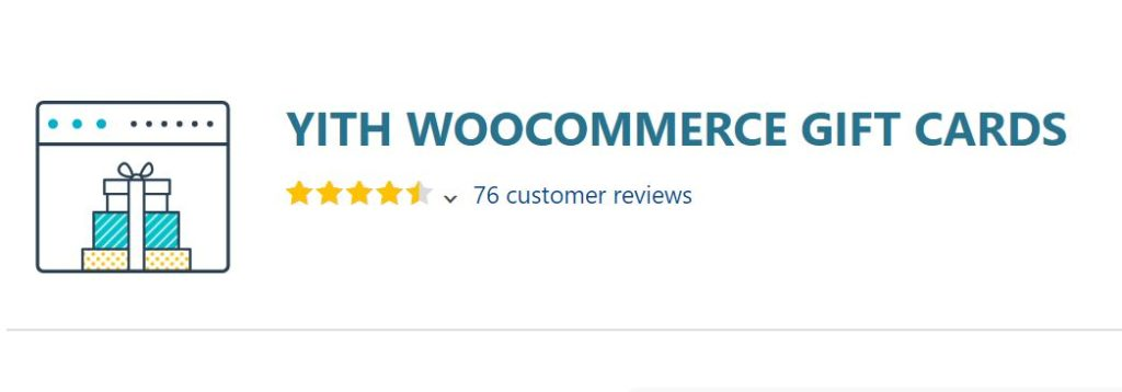 5‑2 - Top 6 WooCommerce Coupon Plugins - 2 - YITH WooCommerce Gift Cards Plugin