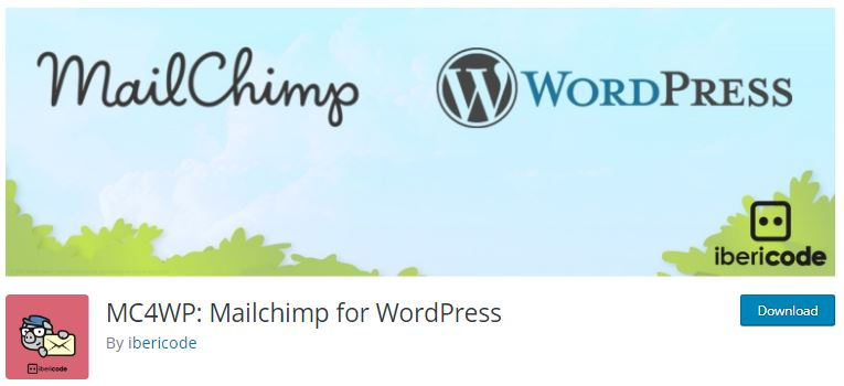 6‑2 - Top 5 Email newsletters WooCommerce Plugins - 2 - MailChimp Plugin