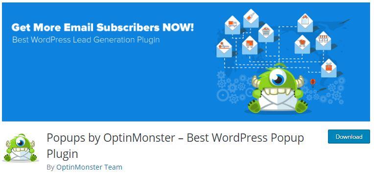 6‑3 - Top 5 Email newsletters WooCommerce Plugins - 3 - OptinMonster Plugin