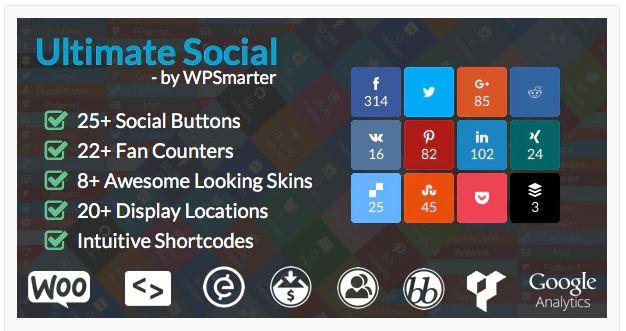 7‑1 - Top 6 Social Media Share Plugin for WooCommerce Store - 1 - Ultimate Social Plugin