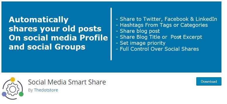 7‑6 - Top 6 Social Media Share Plugin for WooCommerce Store - 6 - Social Media Smart Share Plugin