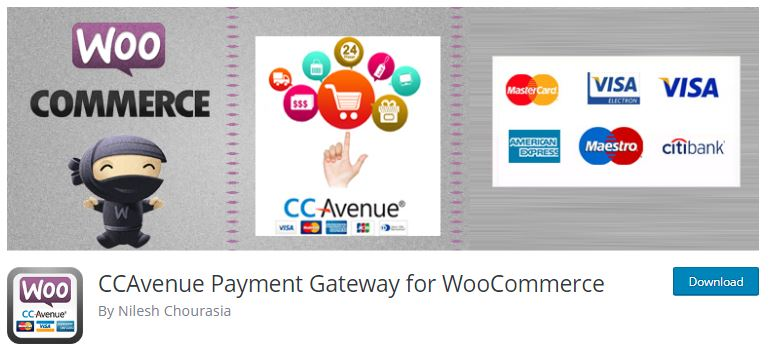 8‑8‑2 - Top WordPress Gateway Plugins - 2 - CCAvenue Payment Gateway For WooCommerce Plugin