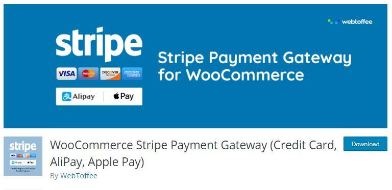 8‑8‑6 - Top WordPress Gateway Plugins - 6 - WooCommerce Stripe Payment Gateway Plugin