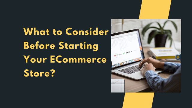 What to Consider Before Starting Your eCommerce Store?