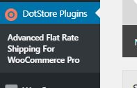 Figure 2: The link to use 'Advanced Flat Rate for WooCommerce Pro'