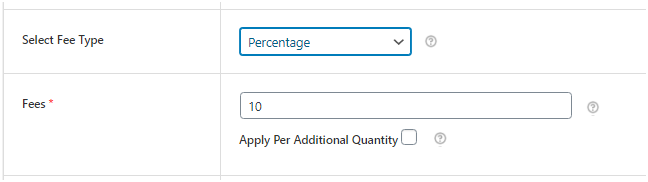 Figure 4: 10% Extra fee on Cart Value, being applied through the WooCommerce Extra Fees Plugin