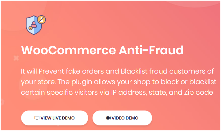 Figure 1: Anti-fraud plugin by DotStore - Add it to your WooCommerce Store